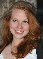 Red-Haired Vixen (wyojones) Tags: woman girl beautiful beauty smile festival nose eyes texas blueeyes makeup paige lips redhead faire freckles renfaire lovely renaissancefestival renaissance renaissancefaire renfest maiden wench rennie wyojones sherwoodforestfaire
