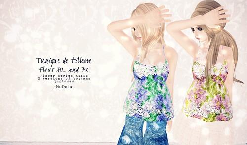 Tunique de Fillette Fleur AD