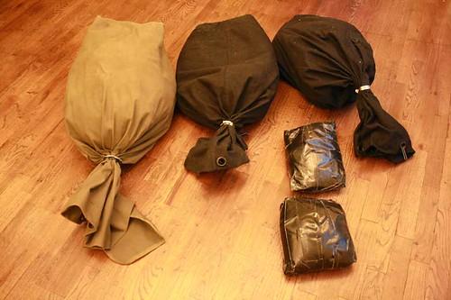 homemade sandbags