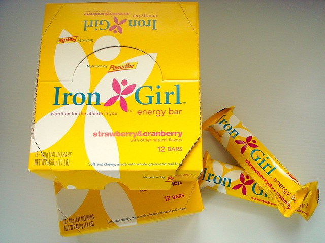New Iron Girl Energy Bars