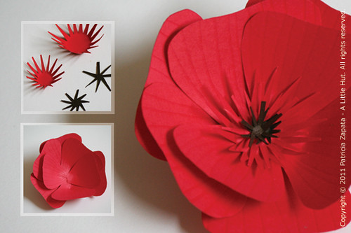A little hut patricia zapata how to make a paper flower paper flower tutorial mightylinksfo