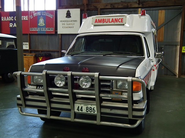 1989 ford f250 ambulance jakab industries australia australian army history unit museum bandiana victoria