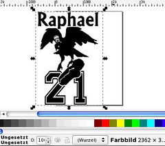 Inkscape: Vektorisieren 3