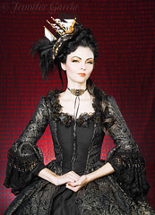 Romantic Threads Gold (Le Mew Photography) Tags: dress fantasy gown weddingdress marieantoinette jennifergarcia lemew romanticthreads