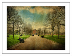 Kensington Palace ..  a royal residence