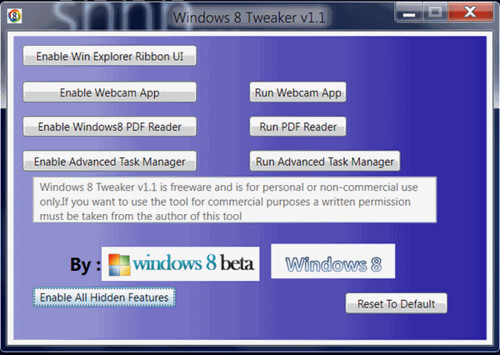 Windows-8-tweaker