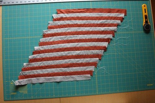 Chevron Pillow Top: Step 4