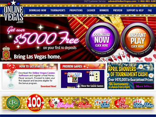 Online Vegas Casino Home