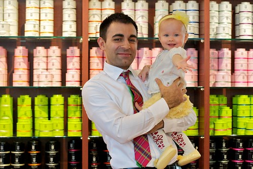 Urban Tea: Reza's youngest customer?