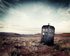 Doctor Who Series 6 TARDIS in Utah w_ddb9059c (combomphotos) Tags: doctorwho series6