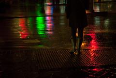 Casualidad (thisisforlovers) Tags: madrid light people españa colors rain 50mm luces lluvia spain nikon gente ciudad colores lonely mm nikkor f18 18 50 solitario solitaria milankundera