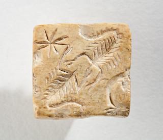Scorpions seal.Mesopotamia.3rd mill.bc.