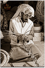 Basket maker   (Fawaz Abdullah) Tags: basket maker              laser707 fawazabdullah  26