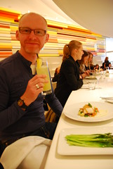 Wright restaurant in the Guggenheim Museum - N...