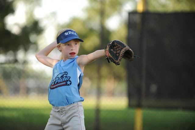 softball...
