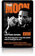 Pulp Fiction Tarot: XVIII The Moon - by Billy Ray