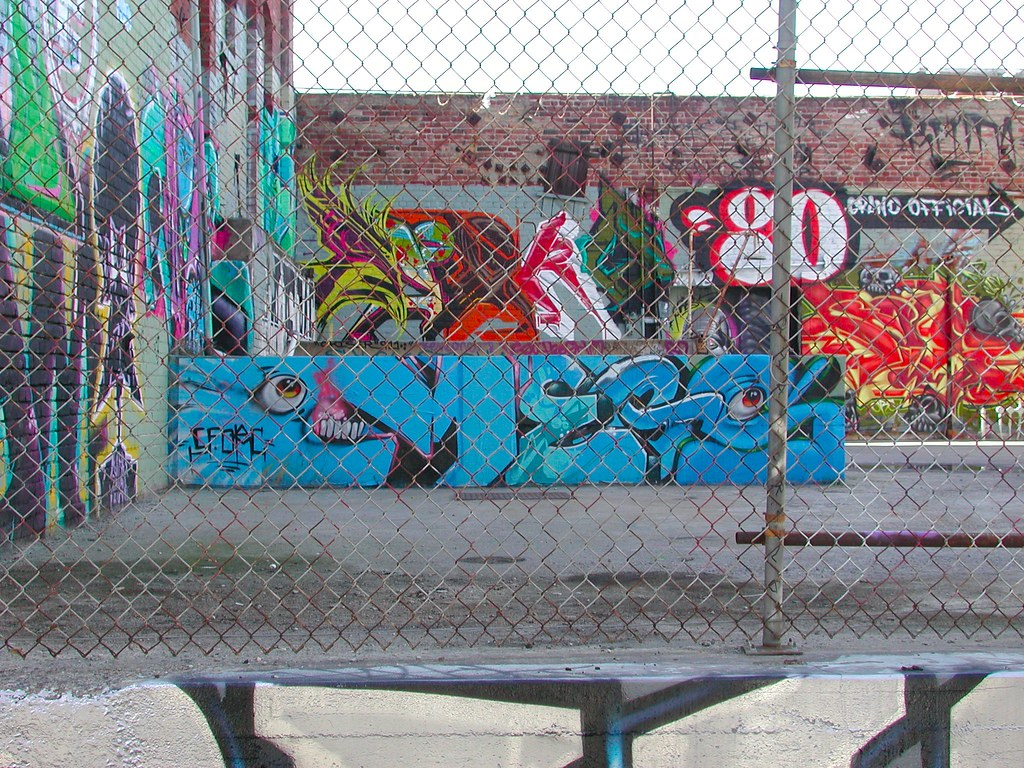MEGS, LA, Los Angeles, Street Art Graffiti