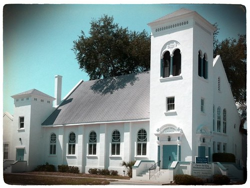 Seminole Methodist Church by bichonphoto