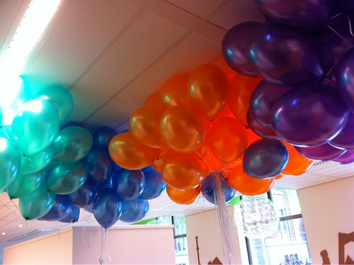 Heliumballonnen Sociale Zaken en Werkgelegenheid Rotterdam