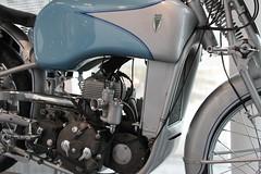 DKW US 250 (pilot_micha) Tags: museum germany bayern deutschland bavaria oberbayern motorbike motorcycle oldtimer deu motorrad ingolstadt audiforum museummobile baujahr1939 11042011 dkwus250