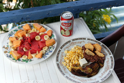 Breakfast, Hostal Tercero Mundo Style