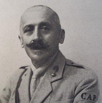 Coronel Trist�o da C�mara Pestana, comandante do CAPI