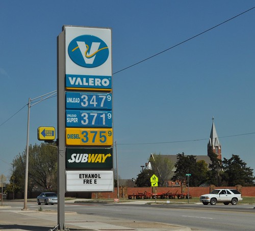 Valero Gas Pump