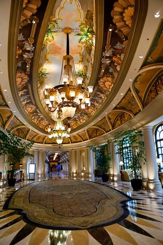 Lobby/hallway leading to Bouchon