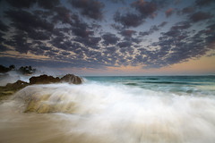 . (Dan. D.) Tags: ocean sea sky cloud seascape water canon landscape movement dominican republic action palm filter freeze nd 5d reverse mkii