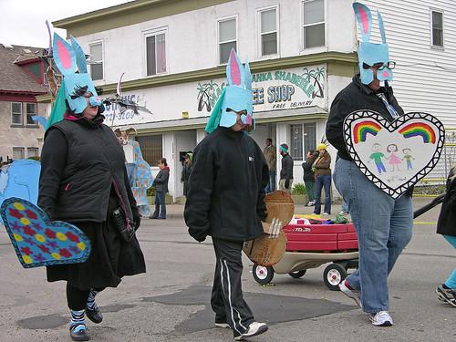 MayDay 2011 Radical Acceptance Rabbits