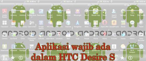 Banner Apps Wajib HTC Desire S
