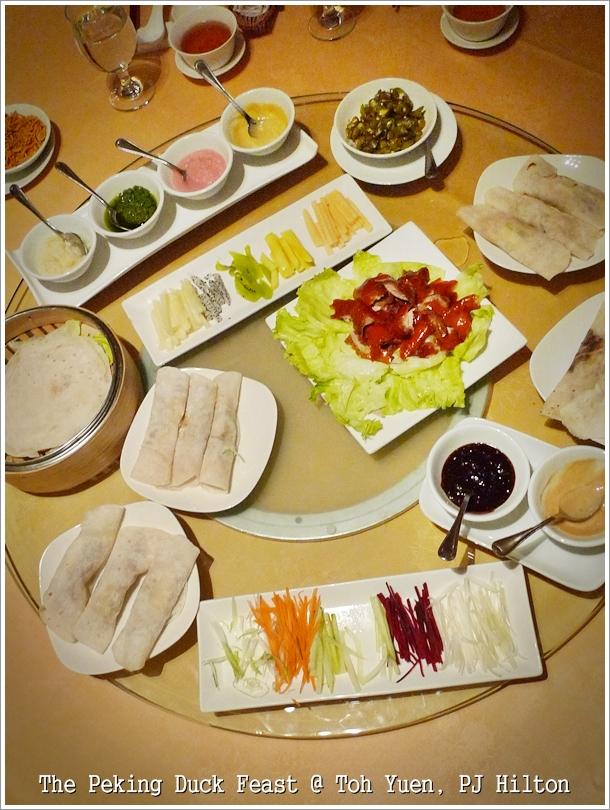 Peking Duck Feast @ Toh Yuen, PJ Hilton