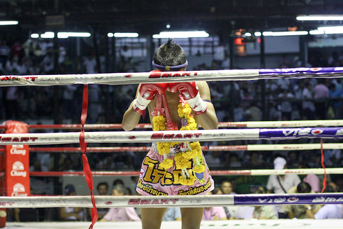 Lumphini Muay Thai stadium in Bangkok