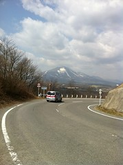 二度上峠から浅間山