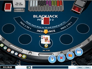 Blackjack Single Player game