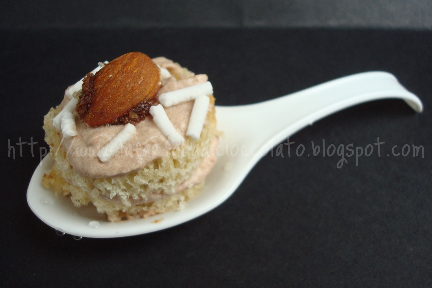 Finger food di Colomba con Crema Mascarpone e Nutella