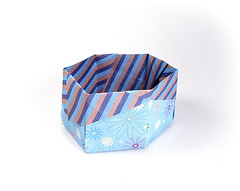 6-Sided Box - Fuse (rebecccaravelry) Tags: origami box fuse tomokofuse