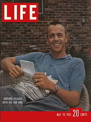 ALAN SHEPARD - FREEDOM 7 / COUVERTURE LIFE