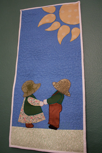 Sunbonnet Sue Wall-Hanging