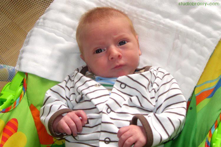 Finn, 1 month
