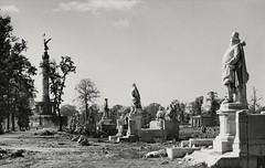 Estatuas en el parque Tiergarten,