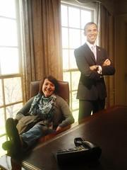 Barack Obama (Sonja Kavka) Tags: vienna wien tussaud franz lama obama dalai klammer gandi barack figl
