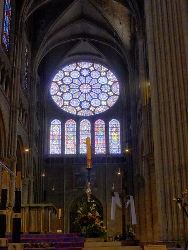 Chartres Cathedral, Rose Window (S)