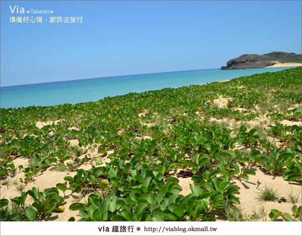 【澎湖沙灘】山水沙灘,遇到菊島的夢幻海灘!5