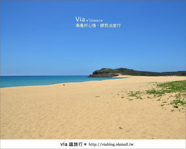 【澎湖沙灘】山水沙灘,遇到菊島的夢幻海灘!11