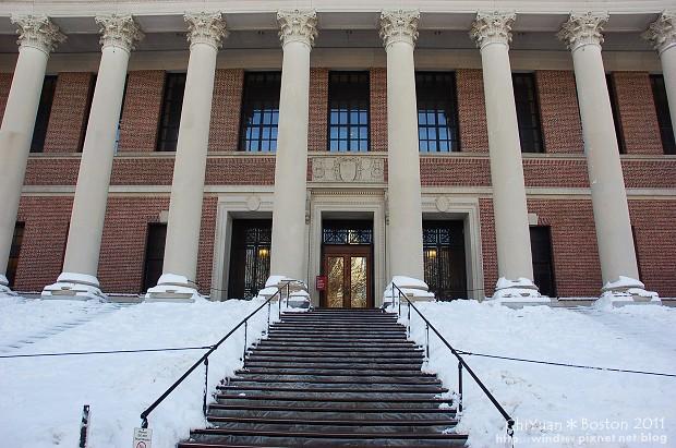 [美國。波士頓]哈佛大學。光芒的兩端,圖書館&紀念教堂(USA美東系列)