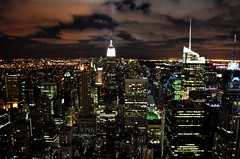 Manhattan at night (k gokul) Tags: city nyc usa newyork night lights manhattan empirestatebuilding
