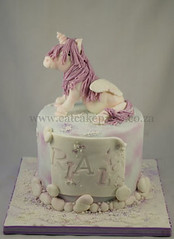 Unicorn cake (Dot Klerck....) Tags: pink horse girl cake southafrica capetown pony wellington unicorn handmodeled eatcakeparty pegathus