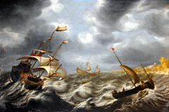 Ludolf Bakhuizen - Shipping in a Storm off the Norway Coast, 1665 at Victoria Art Gallary Bath England (mbell1975) Tags: uk england storm art dutch norway museum painting golden coast bath europe artist gallery grand victoria off musee age artists masters shipping 1665 gallary bakhuizen ludolf