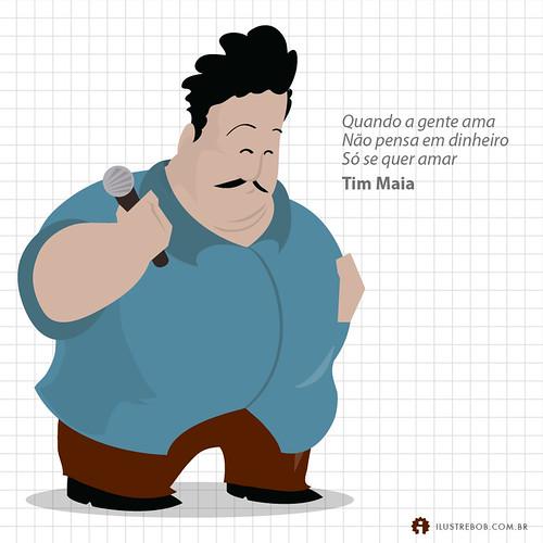 Tim Maia • Qual é a música?